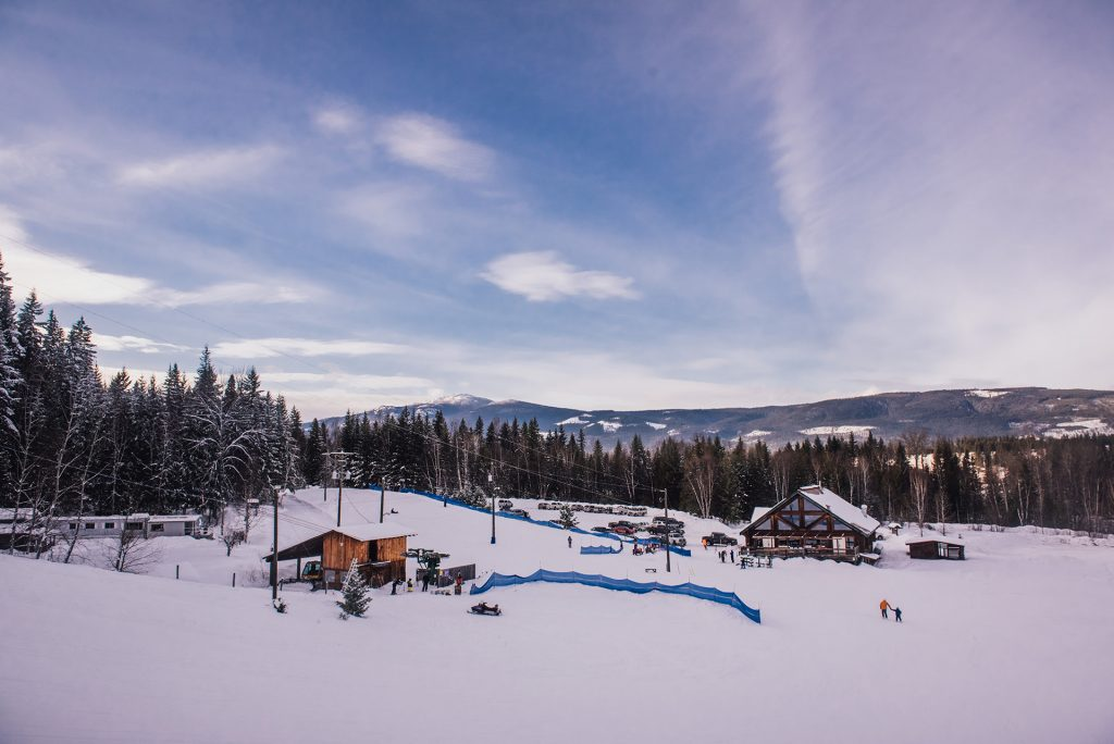 Clearwater Ski Hill - photo by Holly Louwerse Photography
