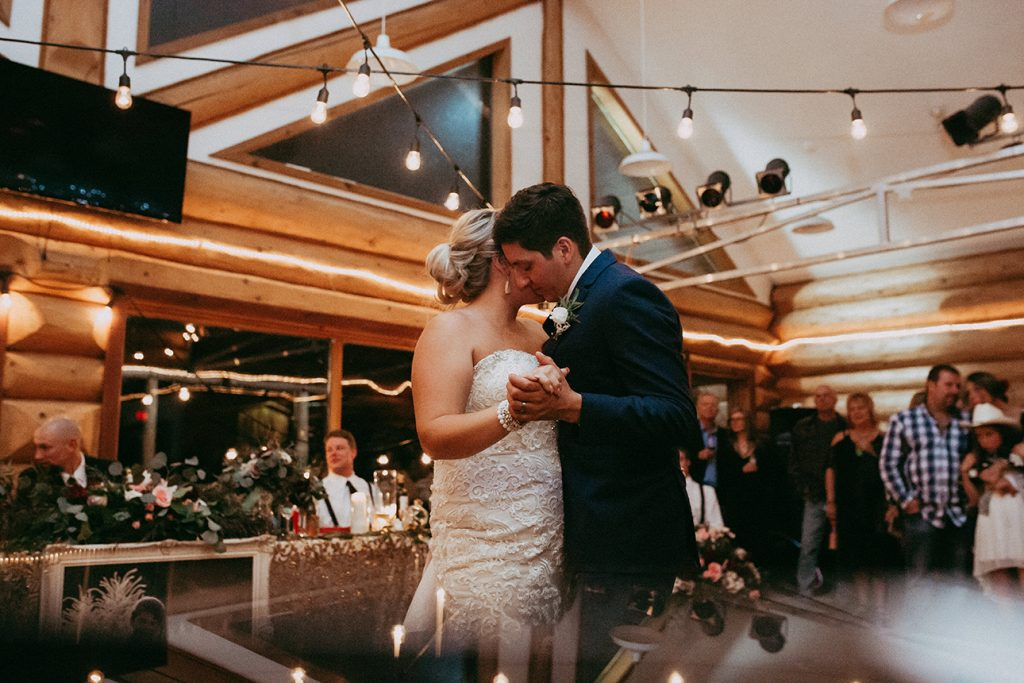 Wedding Reception- at Clearwater Ski Lodge - Photo Credit: Brina Photography