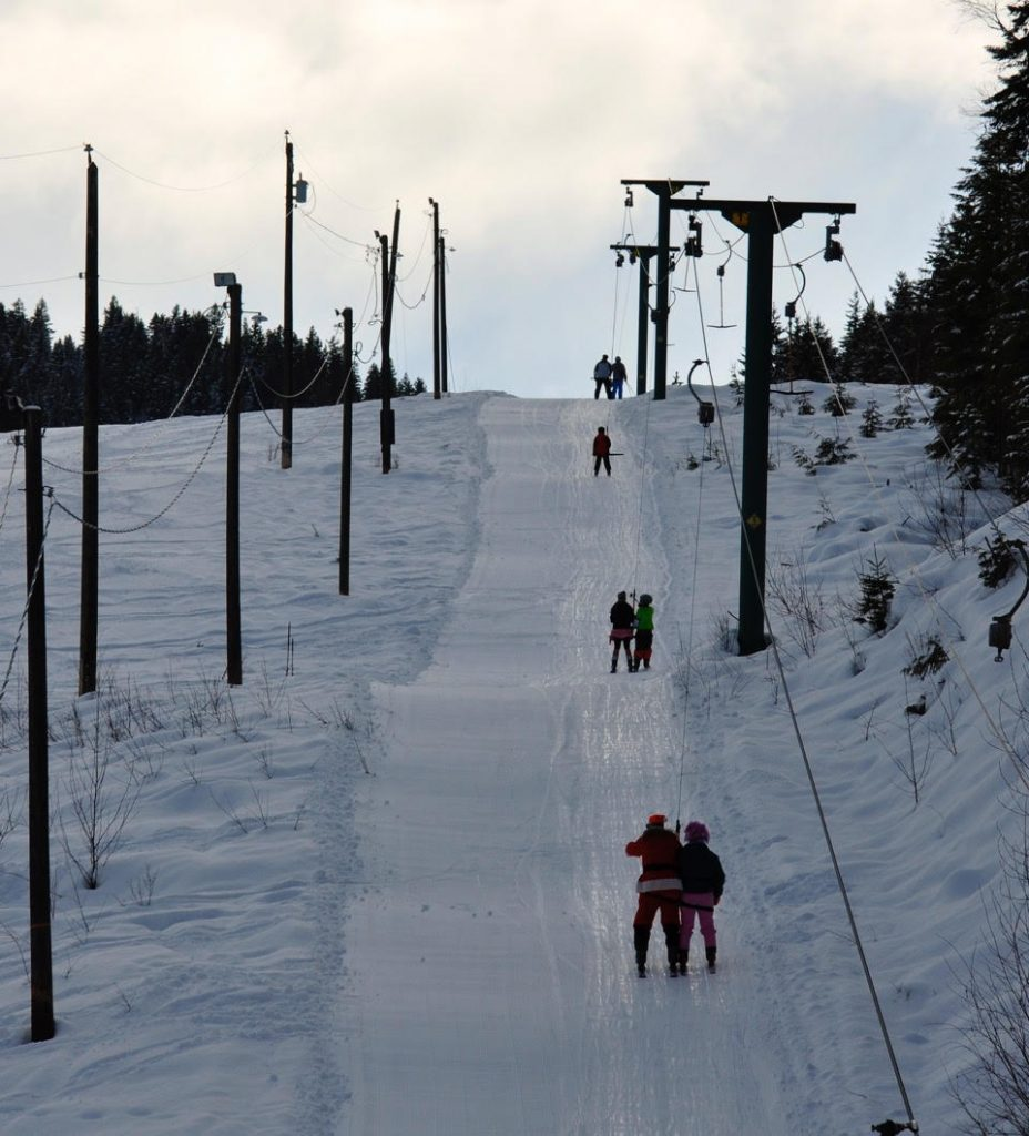 Clearwater Ski Hill - photo credit: NT Times