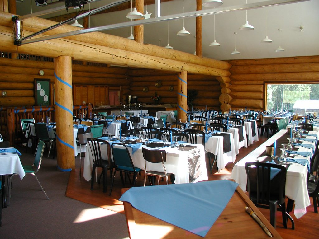 Lodge - indoor dining